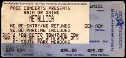 Metlists, Inc  - 1994 Setlists
